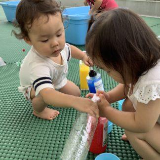 1・2歳児『水…